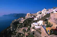 Great Walking in Santorini and Naxos