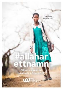 Hur ser bilden av Afrika ut i svenska tidningar? Välkommen till seminarium och rapportsläpp