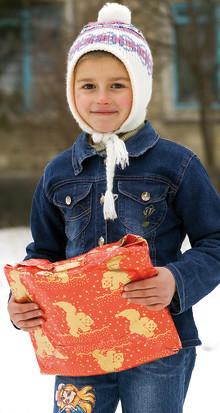 Julklappar till fattiga barn