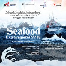 Indonesia Norway Business Council's Norwegian Seafood Extravaganza - 9 November