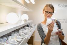 Dimbara LED-lampor kan sänka energianvändningen med 80 procent