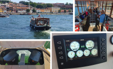 Twin OXE 150 at work on the Douro River Taxi in Portugal