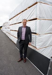 gop underlättar industrin för byggställningar med nya kompositboarden gopanel®