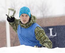 Japanskt snöbollskrig på Luleå tekniska universitet
