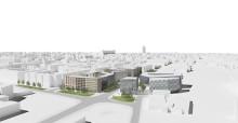 Dreem ritar bostäder och kontor i centrala Kungsängen