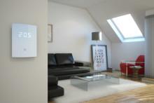 Ny modern rumstermostat för golvvärme