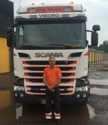 Månedens chauffør er fra Viborg Renovation ApS