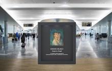 Edvard Munch stilles ut på Avinor Oslo lufthavn