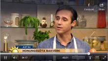 Kända bagare, konditorer och kockar stöttar Svenska Bin med naturligt söta recept