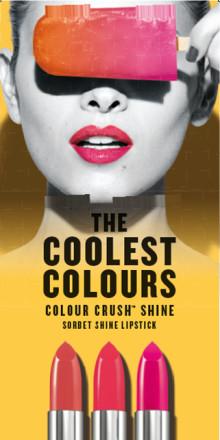 Gläns ikapp med nya Colour Crush™ Shine