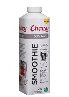 Cheasy lancerer fedtfattig og proteinrig smoothiebase uden tilsat sukker