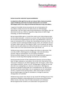 Debatt: Konkurrensverket snedvrider hyrpersonaldebatten