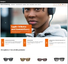 Webbshopslösning i framkant för optikbranschens största butiksägda optikerkedja
