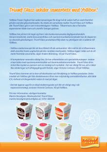 Triumf Glass inleder samarbete med Yollibox!