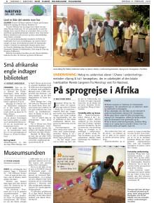 På sprogrejse i Afrika