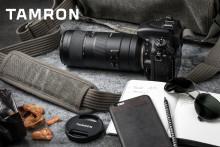 Greitas ir kompaktiškas 70-210 mm f/4 objektyvas iš Tamron