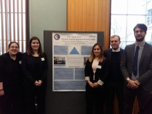 Northumbria students return from UK disaster research conference