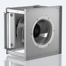 Kompakta centrifugalfläktar för ventilationssystem med krav på höga tryck