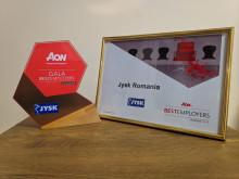 JYSK a câștigat titlul Best Employer pentru anul 2018 în România