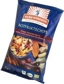 Kung Markatta relanserar ekologiska Rotfruktschips!