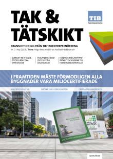Tak & Tätskikt Nr1 2018
