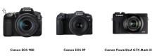 Canon bekräftar firmware-uppdatering med bildfrekvens 24p för filminspelning med de senast lanserade EOS- och PowerShot-modellerna