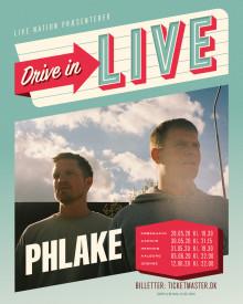 """Albumaktuelle Phlake bekræftet på """"Drive In - LIVE"""" touren"""