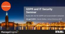 GDPR and IT Security Seminar