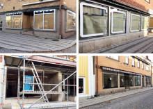 Konstföreningen fyller tomma skyltfönster i Lindesberg med konst