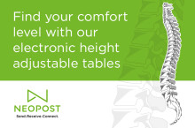 Find your comfort level with our electronic height adjustable tables