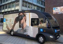 TK-Gesundheitsmobil macht am 31. Juli 2018 Station vor der Mensa