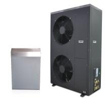ES luft/vatten-värmepump AW 48.4 – 20 kW – fastighetsvärmepump i split-utförande