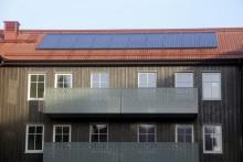 Solceller på fler av Familjebostäders tak