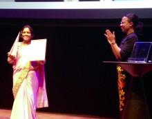 Människorättsaktivist Rita Mahato prisad på MR-dagarna i Umeå