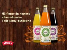 Høstens vitaminbomber - nå i Meny-butikkene!