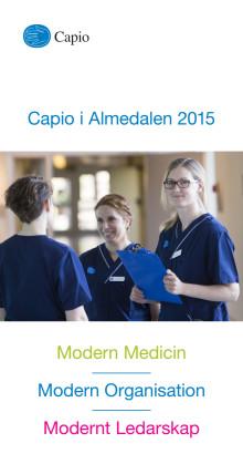 Program Capio Almedalen 2015