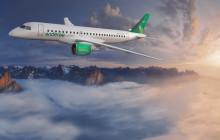 Avinor ønsker Widerøes nye jetfly velkommen til Bergen