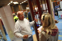 Stort engagemang på yrkesmässan i Leksand