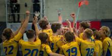 Sveriges U19-herrar vann Euro Floorball Tour efter ha gått obesegrade genom turneringen!