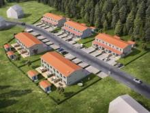 OBOS bygger radhus i Stallarholmen