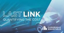 Sista kilometern i e-handelstransportkedjan ofta 50 procent av totala logistikkostnaden
