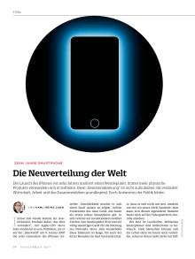 Analyse 10 Jahre iPhone – Die Neuverteilung der Welt
