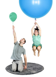 Norrdans föreställning Stor och Liten - för de allra minsta barnen.