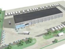 Wihlborgs bygger anläggning till Veho Bil i Malmö