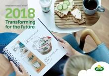 Nyt julkaistu: Arla Foodsin vuosikertomus ja yhteiskuntavastuuraportti vuodelle 2018