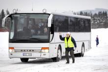 Bussar förbättrar trafikflödet och miljön