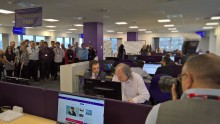 BT's fast expanding Swansea customer service takes centre stage