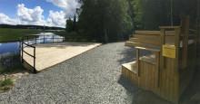 Skådeplatsen vid Lindessjön - nu bokningsbar på prov