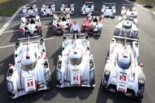 Audis 13 Le Mans vindere samlet for første gang