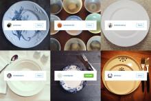 Instagram svømmer over med tallerkener